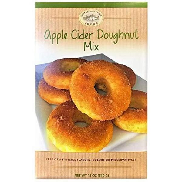 Apple Cider Donut Mix by Little Big Farm Foods - Enjoy a Delicio...