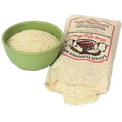 Logan Turnpike Mill, Stone Ground Speckled White Grits, 2 pounds...