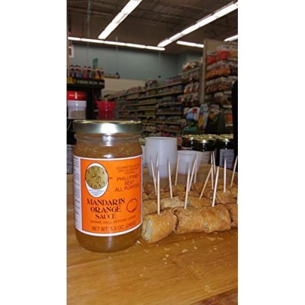 Lola Cions Mandarin Orange Sauce 8.5 oz. All Natural, Gluten-...