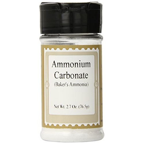LorAnn Bakers Ammonia Ammonium Carbonate 2.7 oz., Jar