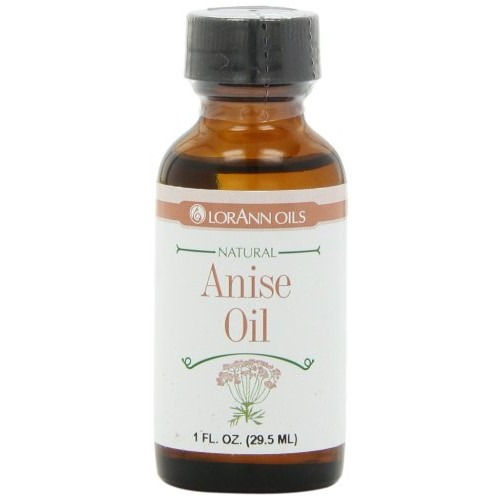LorAnn Natural Flavoring Oils, Natural Anise Oil, 1-Ounce Bottle...