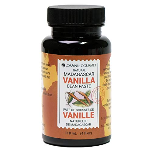 LorAnn Oils Madagascar Vanilla Bean Paste, 4 Ounce