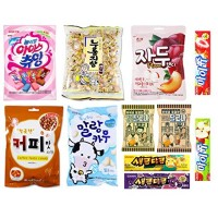 Assorted Korean Candy 11 Count Sampler Gift Set All Different