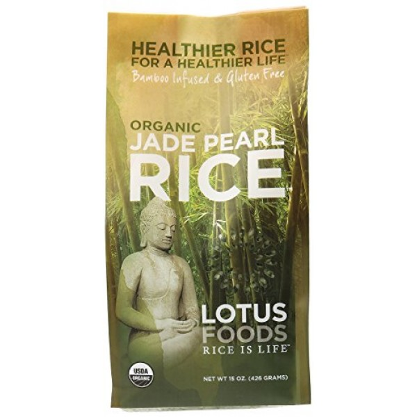 Lotus Foods Rice Jade Pearl Org Gf 15 OZ