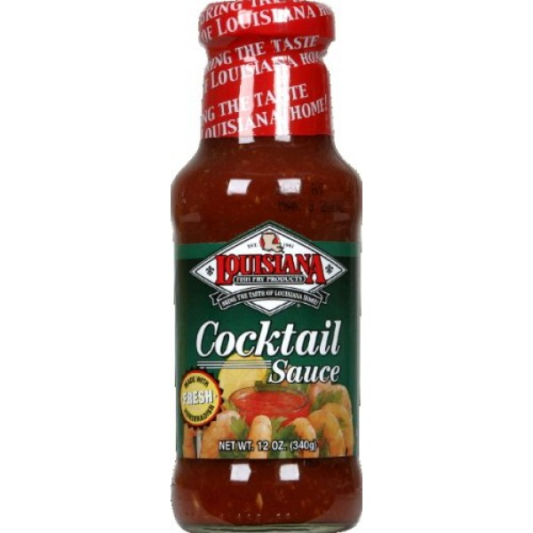 Louisiana Cocktail Sauce with Horseradish 12.0 Oz. Pack of 3