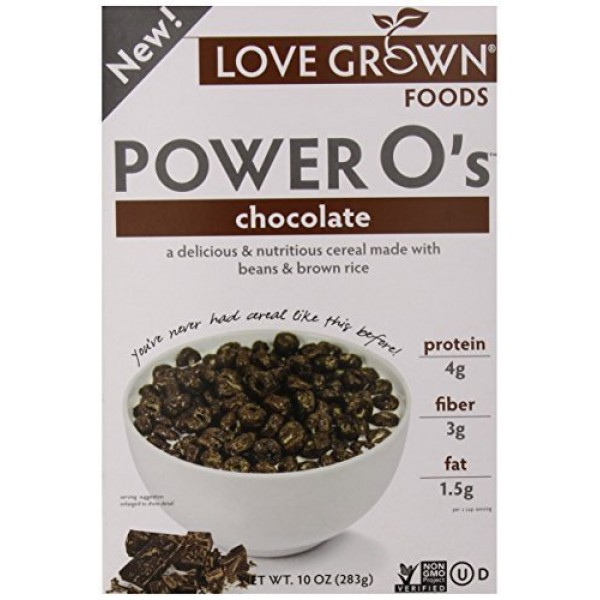 Cereal Power Os Chocolate 10 Ounces Case of 6
