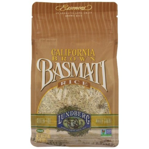 Lundberg Family Farms Brown Basmati Rice, 32 Ounce Pack of 6