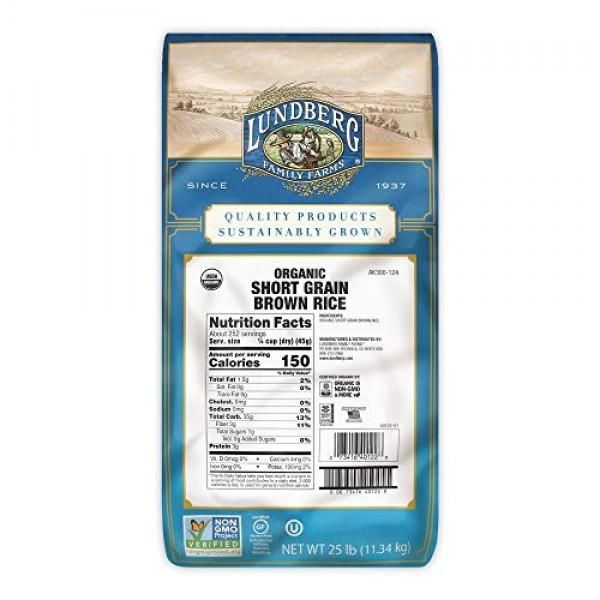Lundberg Family Farms - Organic Brown Short Grain Rice, Subtle N...
