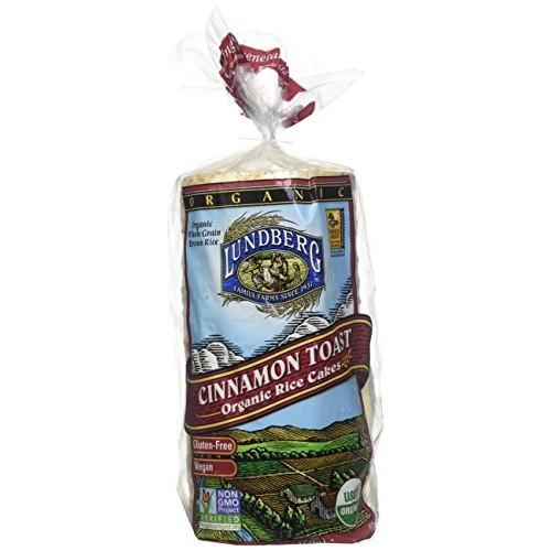 Lundberg Organic Rice Cakes Cinnamon Toast