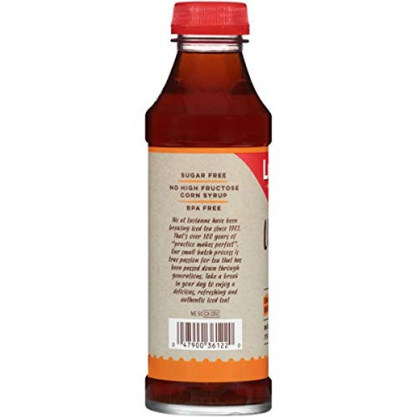 Luzianne Ready To Drink Iced Tea, Unsweetened Tea, 18.5 Ounce P...