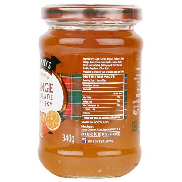 Mackays Orange Marmalade with Whisky, 12 Oz