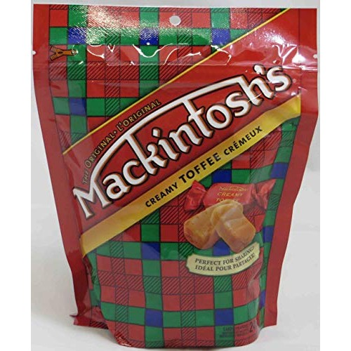 4 Pack of Nestle Mackintosh Mack Toffee Candy | 246 gram Bags | ...