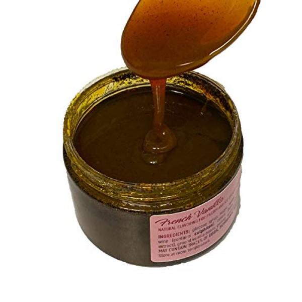 Madame Loulou 7oz French Vanilla Bean Paste, pure & natural flav...