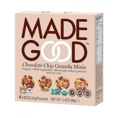Made Good Chocolate Chip Granola Minis 3.4 oz Pack of 2