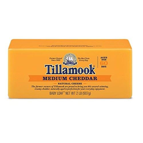 Tillamook Cheese 2lb Baby Loaf Choose Flavor Below Medium Che...