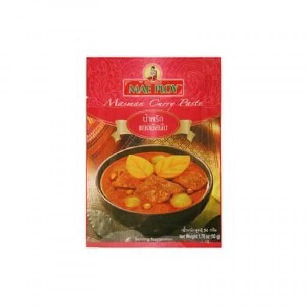 Mae Ploy Masman Masaman Massaman Curry Paste Pack 50g. Thailand
