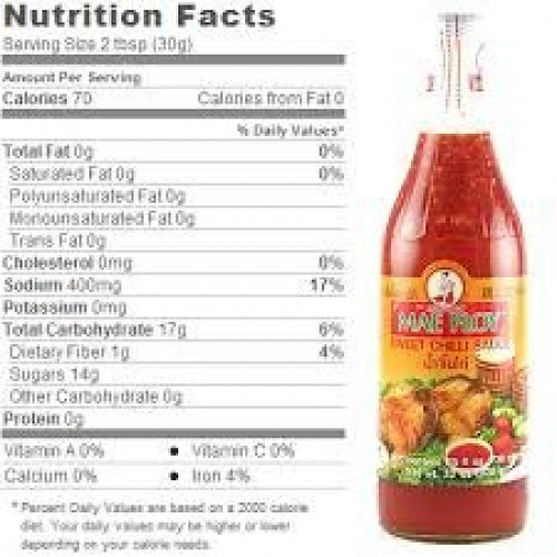 Sweet Chili Sauce For Chicken 12oz Pack Of 1