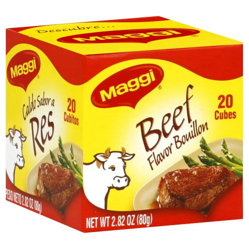 Beef Flavor Bouillon Cubes by Maggi