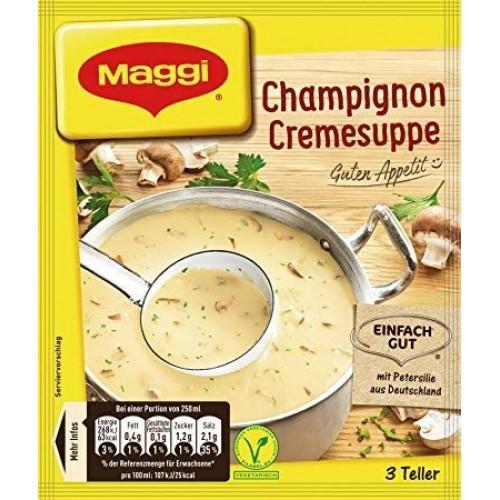 Maggi Guten Appetit Champignon Cremesuppe /Mushroom Cream Soup ...