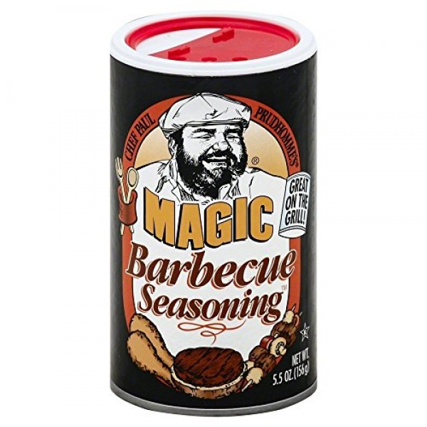 Chef Paul Barbeque Magic Seasoning 5.5 OZPack of 3