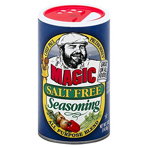 Chef Paul Magic Salt Free Seasoning 5.0 OZPack of 2