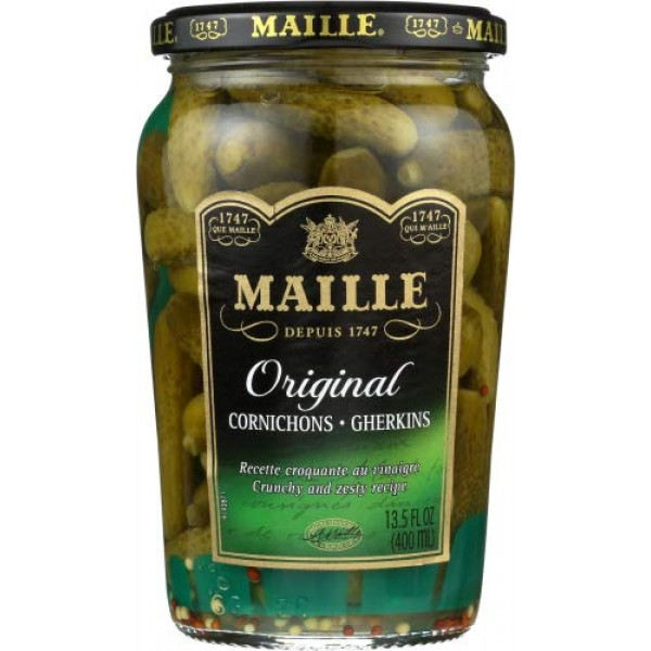 Maille Cornichons, 7.5-Ounce Units Pack of 4