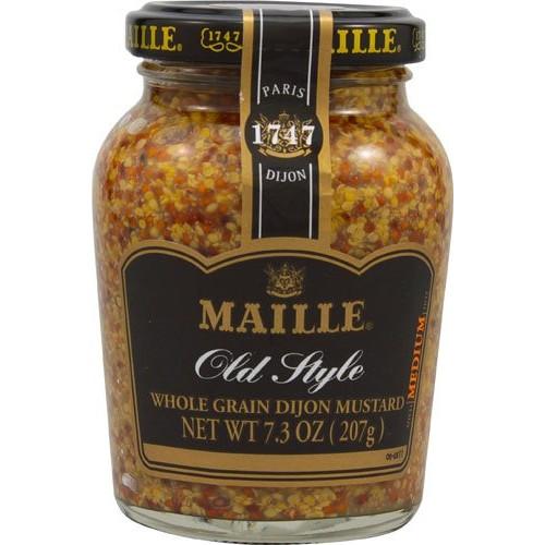 Maille Old Style Whole Grain Dijon Mustard -- 7.3 oz - 2 pc