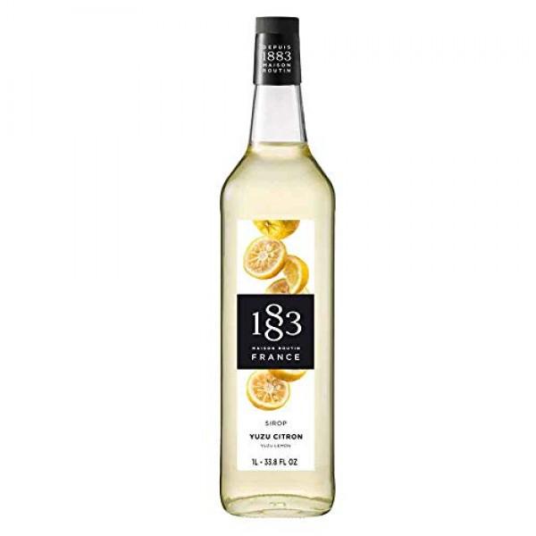 1883 Maison Routin Yuzu Lemon Syrup 1L