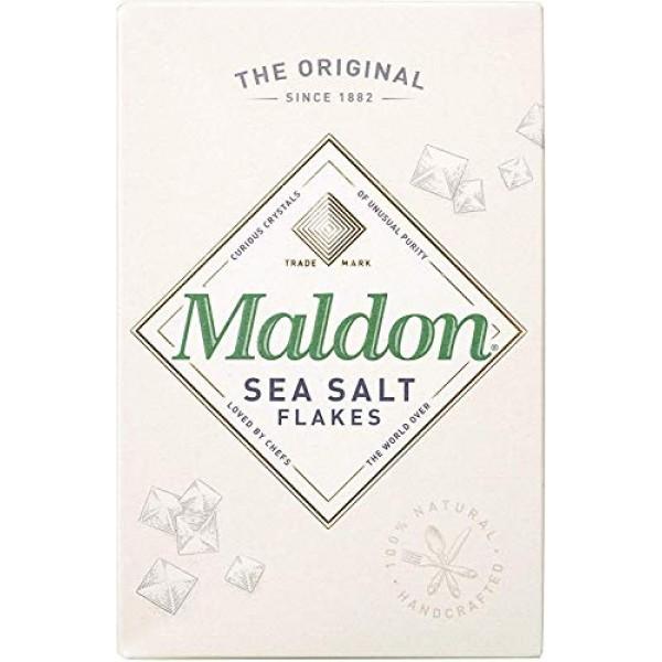 Maldon Sea Salt Flakes 250g - Pack of 2
