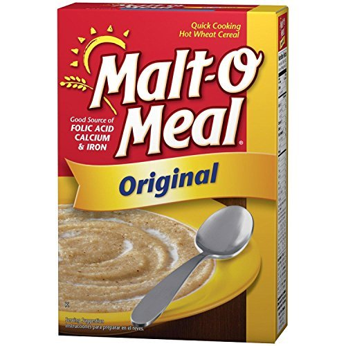 Malt-O Meal Original Fortified Hot Wheat Cereal Pack of 2 36 o...