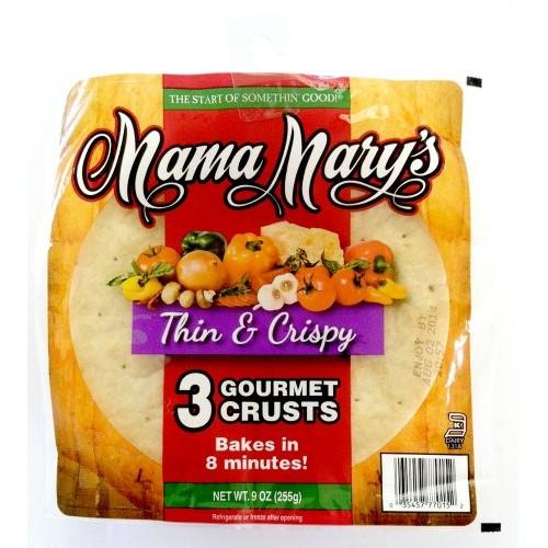 Mama Marys Pizza Crust 7In Thn Crsp, 9 Oz