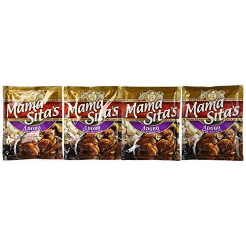 Mama Sitas Adobo Mix Pack of Four 1.76 Oz Per Pack