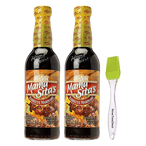 Mama Sitas Barbecue Marinade 11.83 fl. oz Pack of 2 Bundled w...