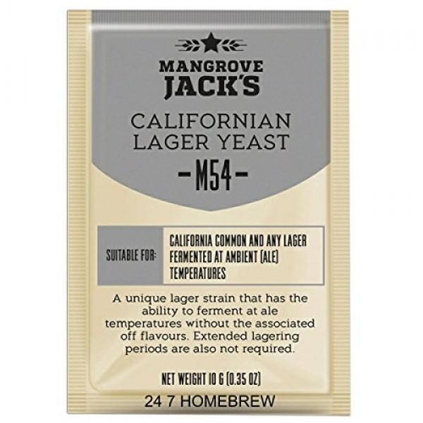 Mangrove Jacks Craft Series Yeast M54 Californian Lager 10g