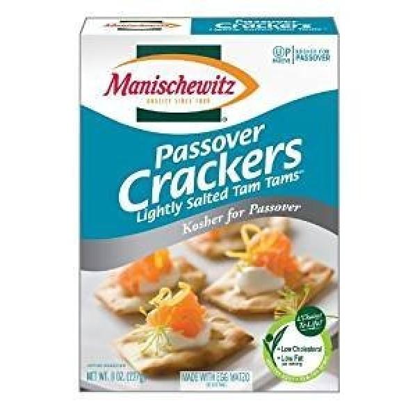 Manischewitz Egg Tam Tams Lightly Salted Crackers Kosher For Pas...