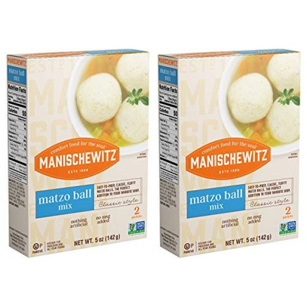 Manischewitz Matzo Ball Mix Kosher For Passover, 5 oz, 2 pk