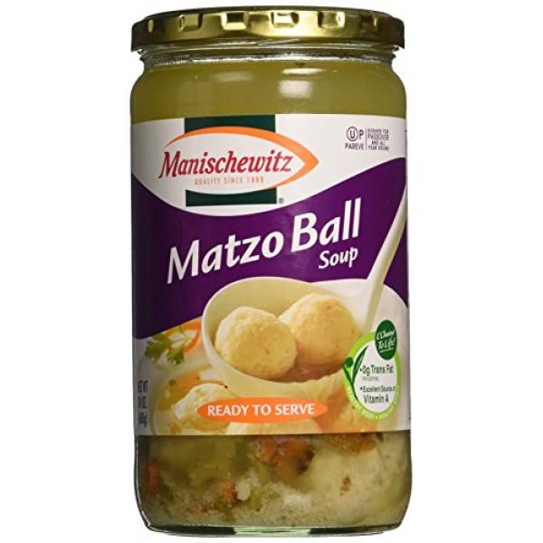 Manischewitz Matzo Ball Soup Jar, 24-Ounce Pack of 3