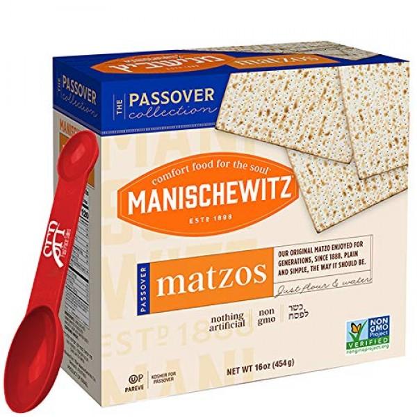 Manischewitz Passover Matzos Crackers, Fresh and Crispy Matzah. ...