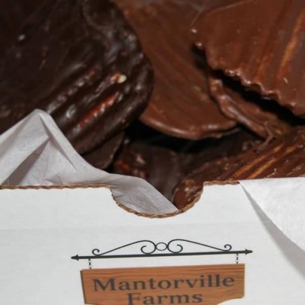 Chocolate Covered Potato Chips No-Melt Guarantee Dark Chocola...