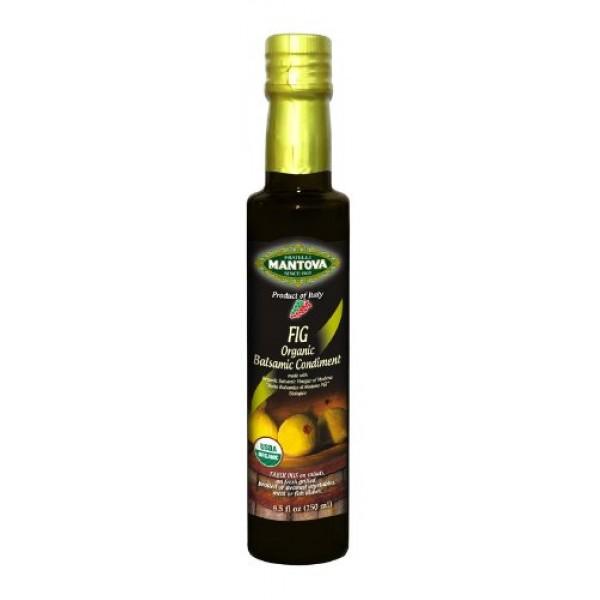 Fig Organic Balsamic Vinegar of Modena 8.5 Oz, a richly flavored...