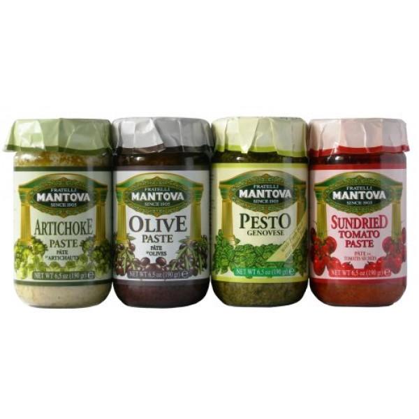Mantova Italian Mix Pesto 4/6.5 oz Pack