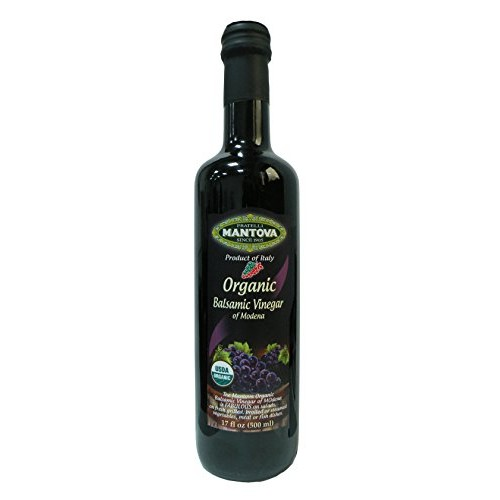Organic Balsamic Vinegar of Modena 17 oz Pack of 2