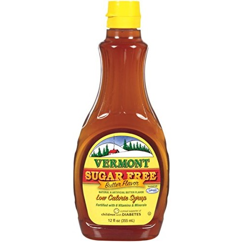 Maple Grove Farms, Vermont Butter Pancake Syrup with Vitamins, S...
