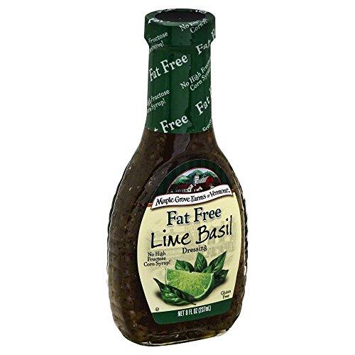 Maple Grove Farms Fat Free Lime Basil Vinaigrette Dressing 8 Oz ...