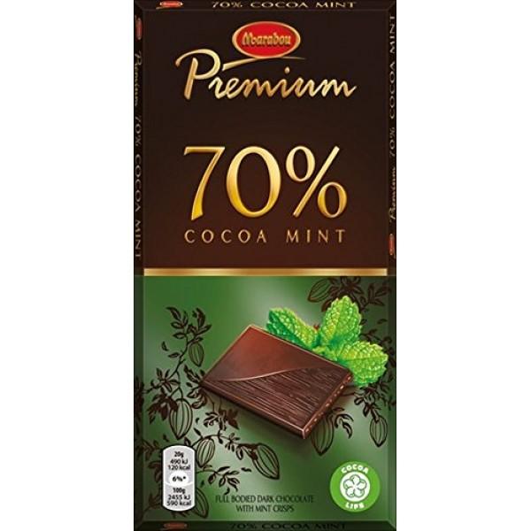 2 Bars x 100g of Marabou Premium Mint - Original - Swedish - Dar...