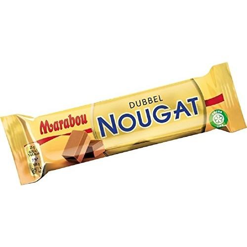 42 Bars x 50g of Marabou Dubbel Nougat - Double Nougat - Origina...