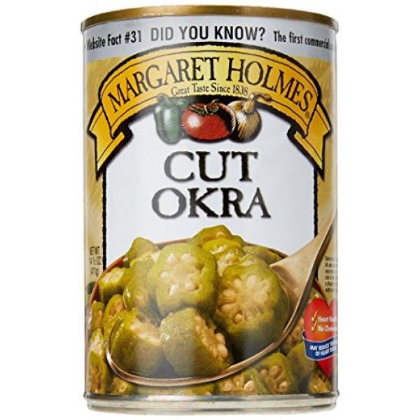Margaret Holmes Cut Okra, 15 oz
