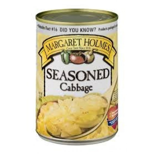 Margaret Holmes Seasoned Cabbage 15 Oz Pack of 6