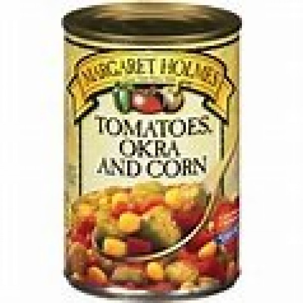 Margaret Holmes Tomatoes, Okra & Corn Pack of 3 14.5 oz Cans