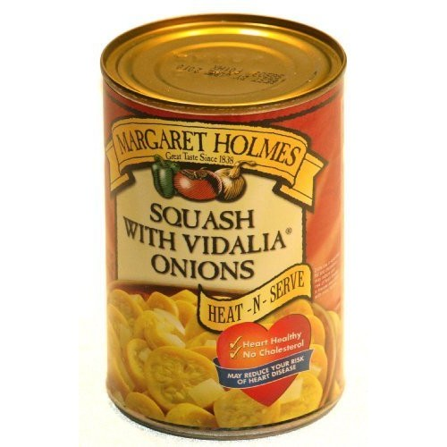 Margaret Holmes, Squash with Vidalia Onions, 14.5oz Can Pack of 6